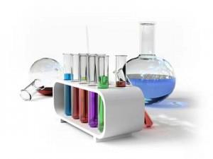 the laboratory tust tubes (3d Image)